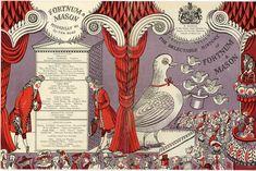 Edward Bawden,pamphlet for Fortnum and Mason's,Alphabet of Illustrators