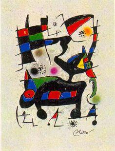 Joan Miro:  Oda a Joan Miro