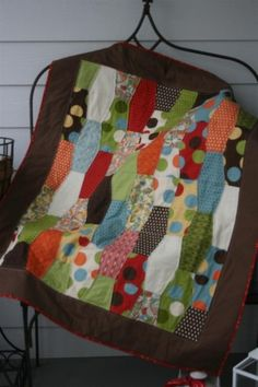 """I love how two of the same patterns are sewn together to form a different look. This is on my """"to do"""" list."""