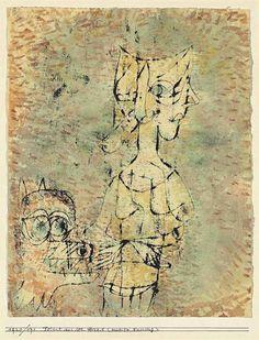 """Paul Klee - Frisst aus der Hand """"Zweite Fassung""""...1920"""