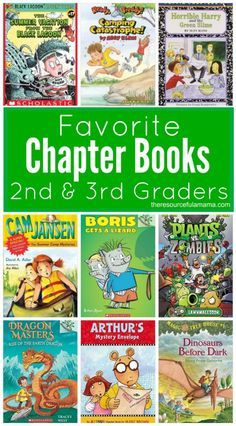Great list of chapter books for even the most reluctant 2nd & 3rd grade readers. grade school | chapter books
