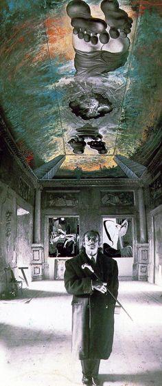 Ceiling of the 'Palace of the Wind', circa 1973. Salvador Dalí. #Surrealismo #Intencion @deFharo