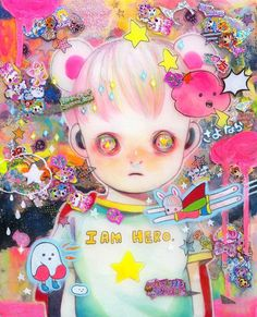 Hikari Shimoda beautiful strange