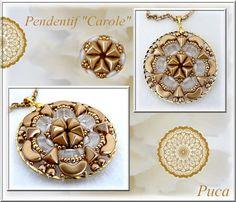 Cultured Pearl et Améthyste Larme 925 Pendentif En Argent Sterling Corona Sun