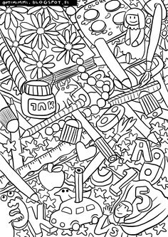 This image can be printed as a coloring page (up to the paper size of A4). HQ version on the blog.