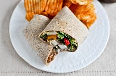 #pecan #crusted #chicken #wraps with #strawberry #honey #mustard . . .