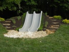 slide in a hillside...awesome