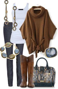 Conjuntos de moda para Invierno - Outfits para Otoño Invierno