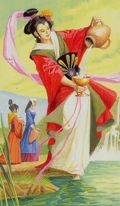 Temperance Tarot Card, Tarot Cards, Dario Fo, Tarot Tattoo, Marco Polo, Major Arcana, Reference Images, Tarot Decks, Archetypes