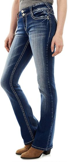 Looking for WallFlower Women's Instastretch Luscious Curvy Bootcut Jeans ? Check out our picks for the WallFlower Women's Instastretch Luscious Curvy Bootcut Jeans from the popular stores - all in one. Wallflower Jeans, Pants For Women, Clothes For Women, Junior Outfits, Club Outfits, Jeans Brands, Jean Outfits, Stretch Denim, Stretch Fabric