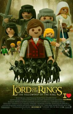 The Lord of the Rings Fellowship Of The Ring, Lord Of The Rings, I Love Cinema, Playmobil Toys, Alesso, Toy Display, Mini Photo, Toys Photography, Middle Earth