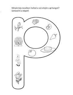 Játékos tanulás és kreativitás: Kisbetűkben képek a hangfelismerés gyakorlásához Dysgraphia, Worksheets, Symbols, Teaching, Writing, Education, School, Facebook, Words