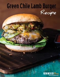 New Mexico didn't invent the hamburger, but we're the one who added green chile and made it hot!