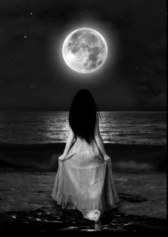 The moon is my only friend.