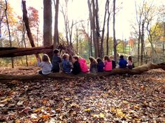 There is nothing better than enjoying snack outside on a beautiful fall morning!
