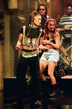Janet Jackson on Saturday Night Live in 1994