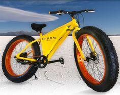 雪に強い! ― 電動アシストファットバイク「Storm」、Indiegogo で出資者募集中 - えん乗り