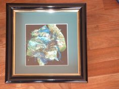 FRAMED SAMPLE FOR SALE $80.00 Peacock Blue Sampler