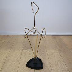 Buy retro 1950s brass umbrella stand from Mark Parrish Mid Century Modern Furniture, Midcentury Design.
