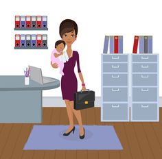 6 Ways Companies Can (and Should) Support Working Moms | With more than 40 percent of mothers the sole or primary source of their household income, there's a dire need for companies to invest in today's working moms.