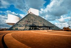 Visit the Rock and Roll Hall of Fame and Museum in Cleveland, OH