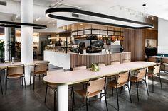Cafe design small coffee shop ideas design best cafe interior on in Design Café, Cafe Design, Cafe Interior, Interior Design, Food Court Design, Cafe Signage, Melbourne, Small Coffee Shop, Coffee Shops