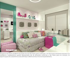 Awesome Quarto Decorado Feminino Moderno that you must know, Youre in good company if you?re looking for Quarto Decorado Feminino Moderno Home Bedroom, Bedroom Decor, Teen Decor, Teen Girl Bedrooms, New Room, Girl Room, Sweet Home, House Design, Decoration