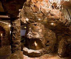 Magical mountain hotel