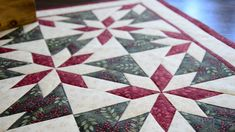 Le plus chaud Pic Patchwork tutorial italiano Idées Colchas Quilting, Machine Quilting, Quilting Projects, Quilting Designs, Quilting Ideas, Star Quilt Blocks, Star Quilts, Mini Quilts, Christmas Quilt Patterns