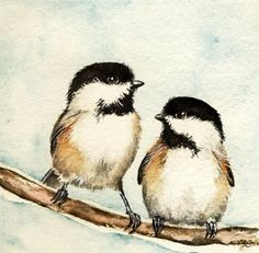 From the Studio of Madelaine: Brothers - Bird #42