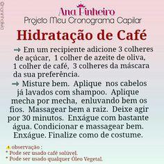 Hidratação Capilar #cronograma #cronogramacapilar #tratamento #tratamentocapilar #cachos #cacheadas #cafecomana #crespos #negras