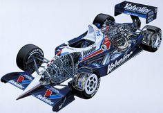 Gallery: Racing cars cut in half look awesome - Motorsport Retro