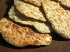 This naan is from the New Vegetarian Epicure. With just four ingredients and no yeast, it is simple to mix up, but it is so soft and flavorful I figured Id add it to the many recipes already posted. Prep time does not include 1 hour of resting.