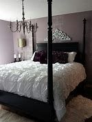 Black and Purple Bedroom Decorating Ideas Lavender Bedroom Decorating Ideas Girls Bedroom, Purple Master Bedroom, Mauve Bedroom, Purple Bedroom Design, Purple Bedrooms, Bedroom Black, Small Room Bedroom, Trendy Bedroom, Bedroom Colors