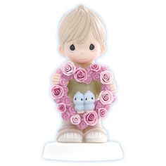 limited edition precious moments figurines | Precious Moments Love Figurine - My Heart Is Yours