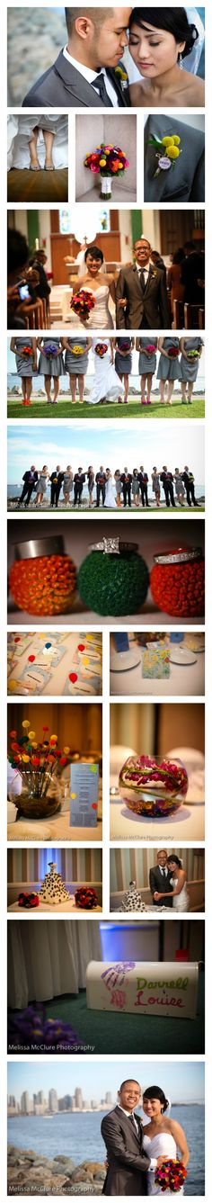Darrel + Anna  {Up! Themed Wedding}  San Diego Wedding Planner Swann Soirees | Melissa McClure Photography