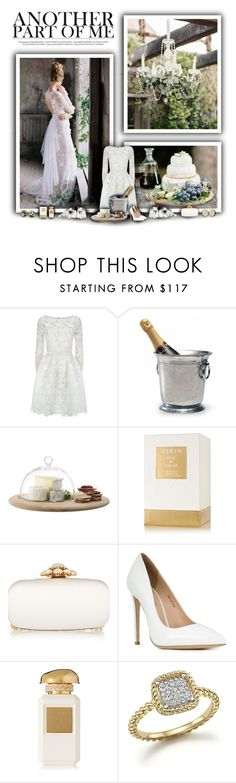 """Best Dressed Guest:  Winery"" by rachelegance ❤ liked on Polyvore featuring Oscar de la Renta, Match, LSA International, AERIN, Gianni Renzi, Roberto Coin, Jennifer Meyer Jewelry, napa, winerywedding and bestdressedguest"