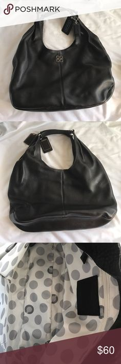 Coach Shoulder Bag Brand new, never used. Great condition. Comes with drawstring bag to keep purse in good condition. No tag. Coach Bags Shoulder Bags