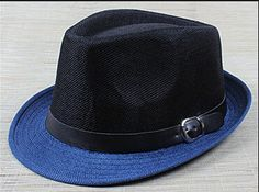 Hard Felt Fedora Trilby Hat Retro Unisex Panama Hat Men Gangster Dancer Cap 35cbb7813c51