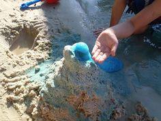 Sand volcano.  Fun for the beach.