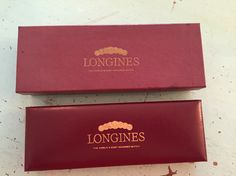 Vintage Longines box and case