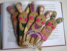 felt rabbit bookmark (image only)