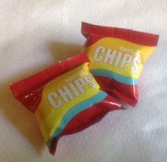 American Girl Fiesta Picnic Set Pretend Tortilla Chip Bag For Doll Only
