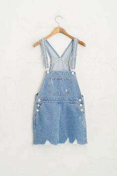 Women - Dresses - Page 1 Olive Clothing, Pinafore Dress, Overall Shorts, Everyday Fashion, Personal Style, Overalls, Casual Outfits, Vogue, Street Style