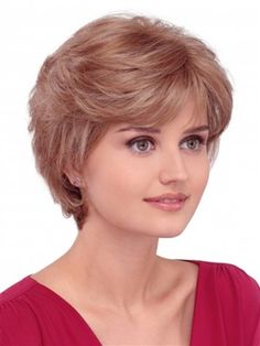 April Wig by Louis Ferre :  Classic shag, gamins style that urchin onto the face. Short and sweet and ever popular.