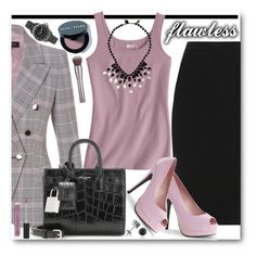 """""""Flawless"""" by brendariley-1 ❤ liked on Polyvore featuring ESCADA, Lanvin, Bordello, Yves Saint Laurent, Monsoon, Chanel, Bobbi Brown Cosmetics, BERRICLE, Urban Decay and women's clothing"""