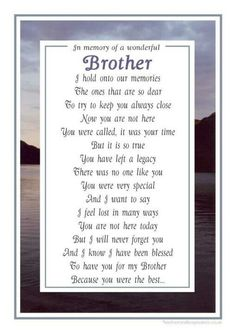 Discover and share Missing Brother In Heaven Quotes. Explore our collection of motivational and famous quotes by authors you know and love. Missing Brother Quotes, Brother Sister Quotes, Happy Fathers Day Brother, Brother Brother, Nephew Quotes, Funny Sister, Bob Marley, Mantra, Grief Poems