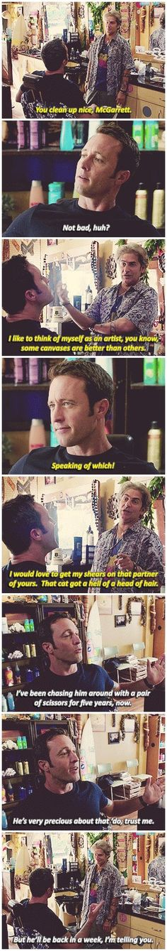 #hawaii five 0 #alex o'loughlin #mcdanno #michael imperioli #but this was so…