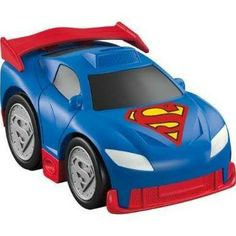 FisherPrice DC Superfriends Shake N Go #superman #DC #fisherprice #cars #toys