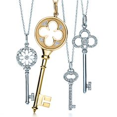 Tiffany and Company  key collection.